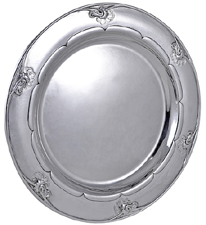 Georg Jensen Silver Tray No. 232E