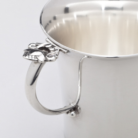 Georg Jensen Acorn Silver Child's Cup No. 662A