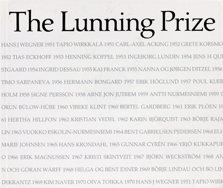 The Lunning Prize
